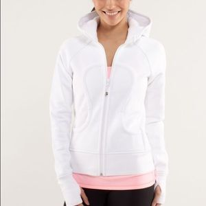 lululemon athletica Jackets & Coats - LULULEMON 🍋 Scuba Hoodie (White)